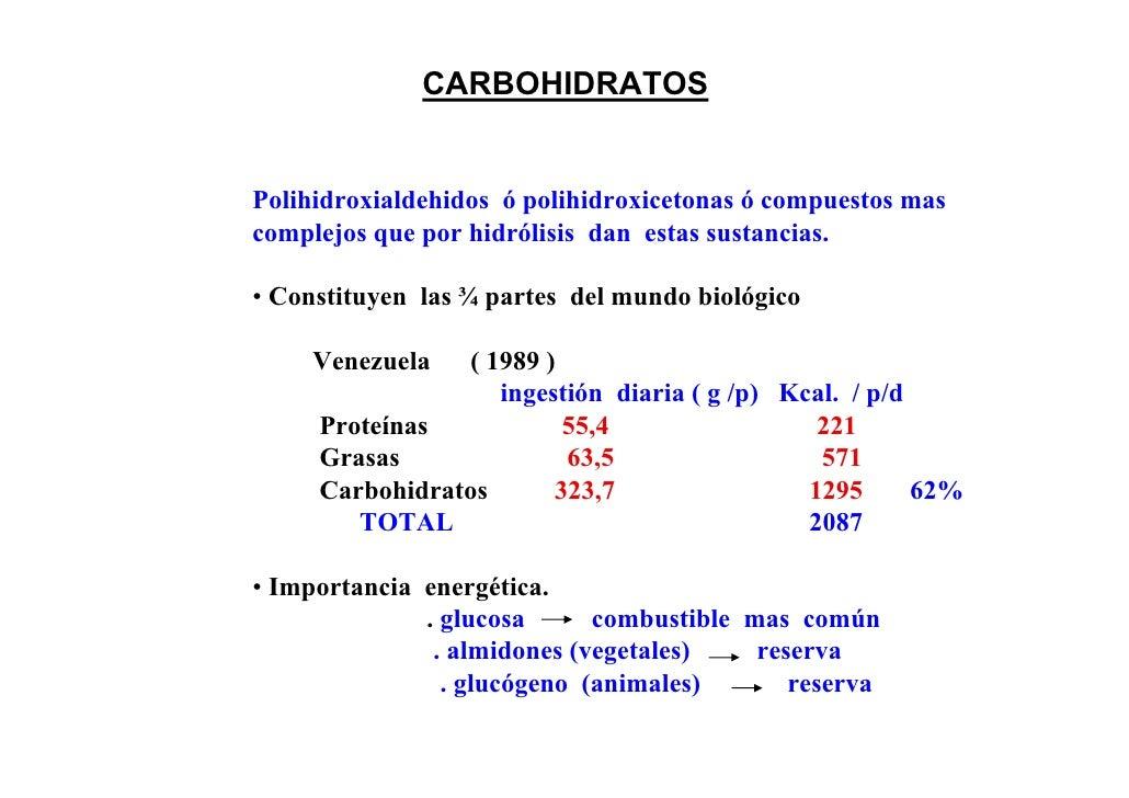 CARBOHIDRATOSPolihidroxialdehidos ó polihidroxicetonas ó compuestos mascomplejos que por hidrólisis dan estas sustancias.•...