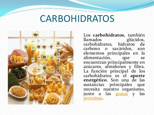 Carbohidratos - Que alimentos son carbohidratos ...