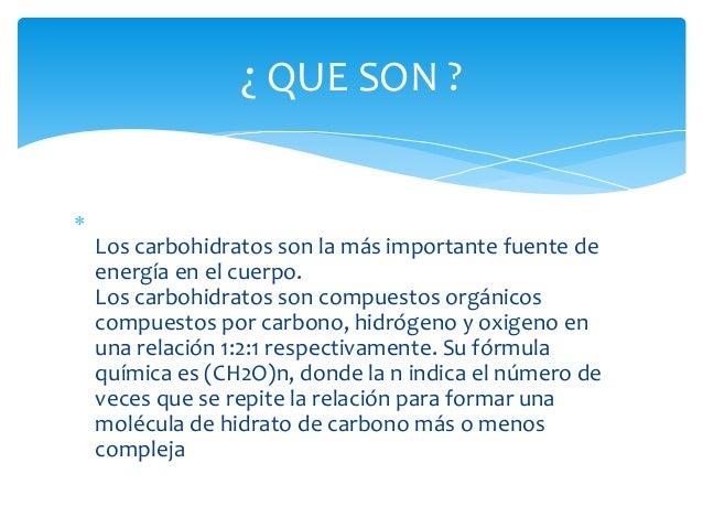 Carbohidratos Slide 2