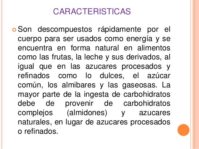 Carbohidratos disacaridos - Que alimentos son carbohidratos ...