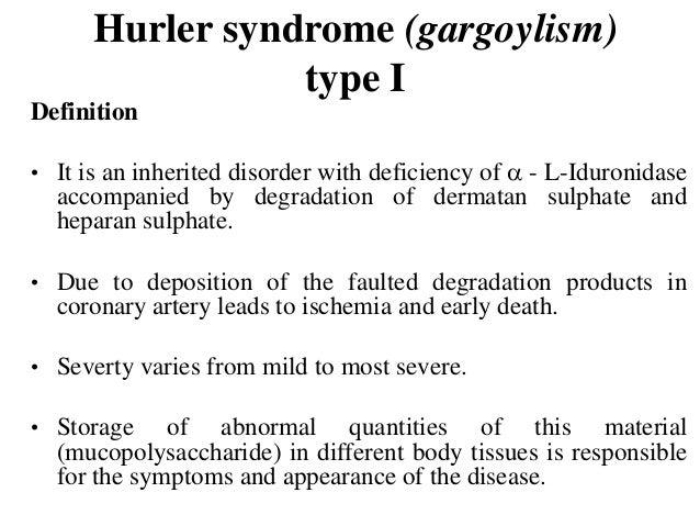 Gargoylism Definition
