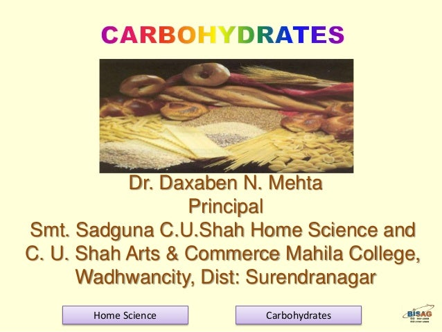 Dr. Daxaben N. Mehta Principal Smt. Sadguna C.U.Shah Home Science and C. U. Shah Arts & Commerce Mahila College, Wadhwanci...