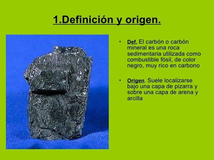 Carbon for Roca definicion