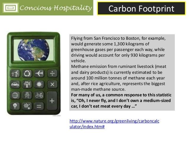 Carbon Footprint in Hospitality Slide 3