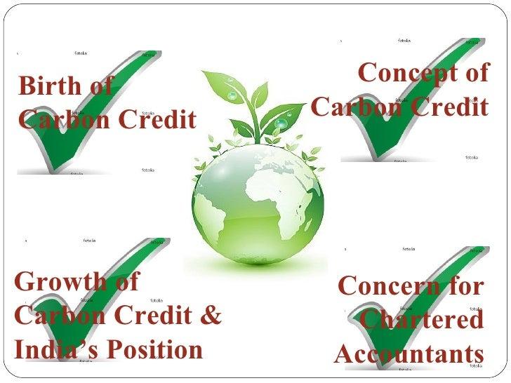 Carbon credits Slide 38