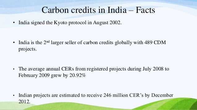 carbon credit management in india Greenhouse gas management and the carbon market national indian carbon coalition (nicc) is a greenhouse gas management service providing project development.