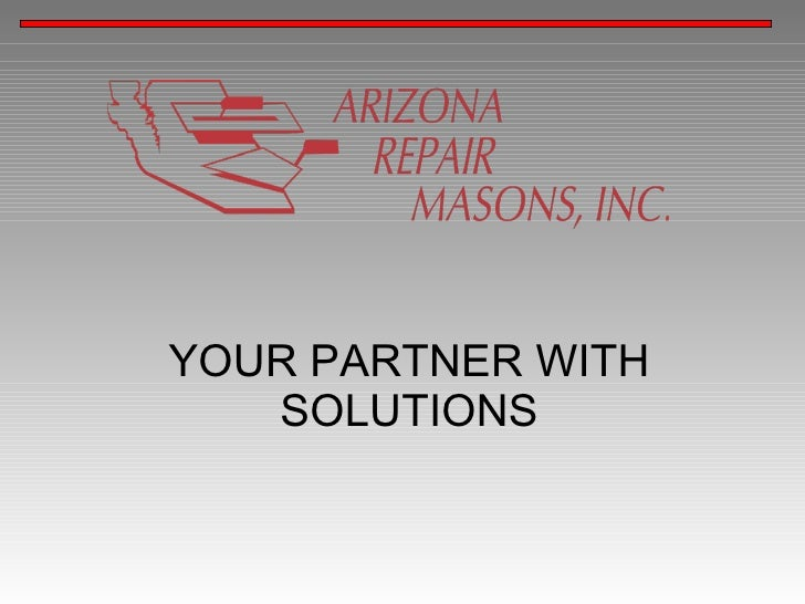 YOUR PARTNER WITH    SOLUTIONS