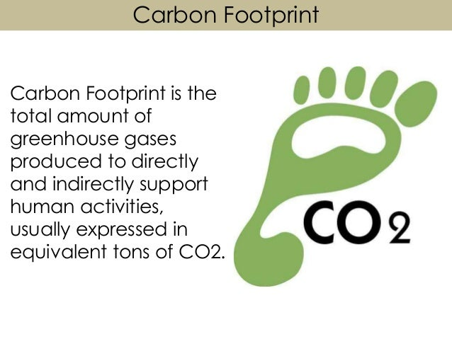 carbon footprint paper 3 How to reduce your carbon footprint  1 air travel is usually the largest component of the carbon footprint of  a suit made of wool may have a carbon impact.