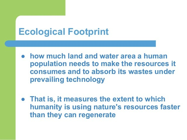 carbon footprint and water footprint environmental sciences essay The water footprint shows the extent of water use in relation to such environmental water use is for this is in contrast to the carbon footprint.
