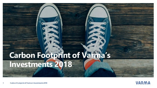 Carbon Footprint of Varma's Investments 2018 CarbonFootprint of Varma's Investments 20181