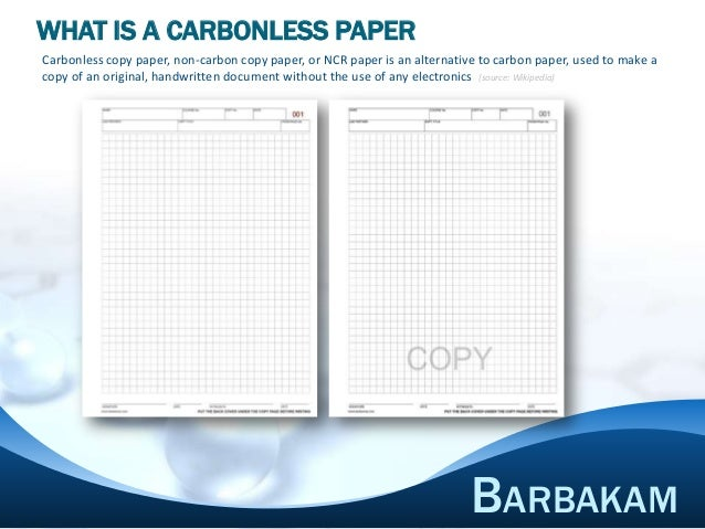 Carbonless Lab Notebook