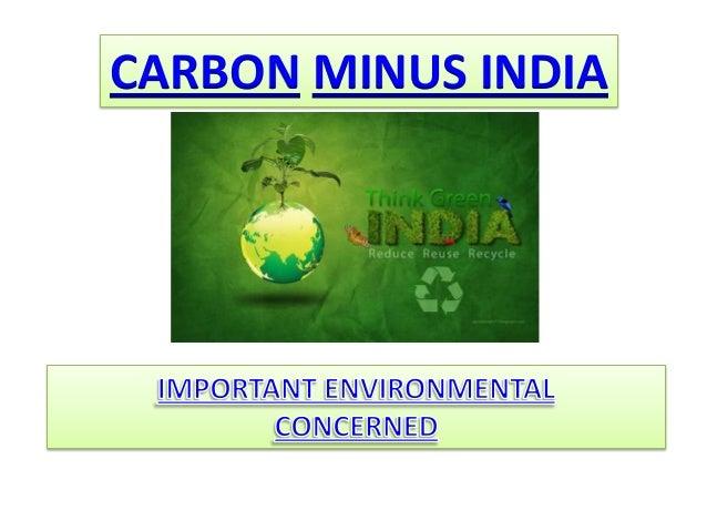 CARBON MINUS INDIA