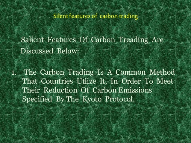 how to start carbon trading in india