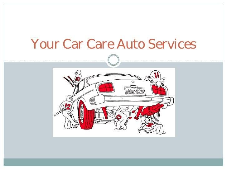 Your Car Care Auto Services