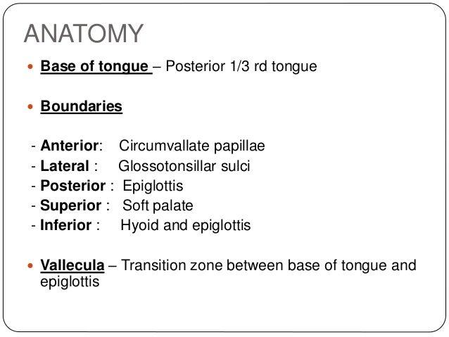 Carcinoma base of tongue