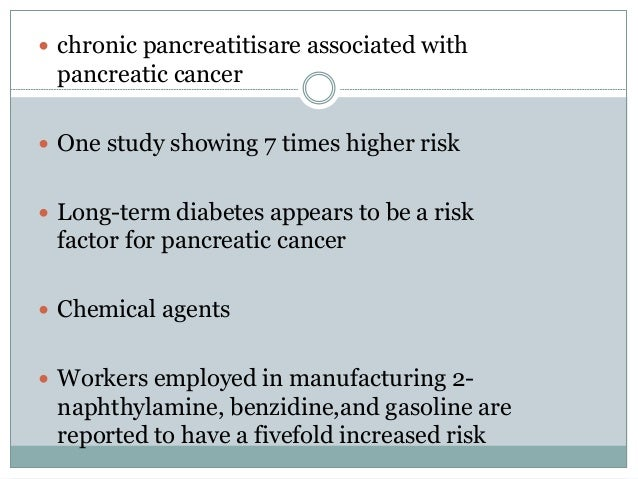 pancreatic cancer management