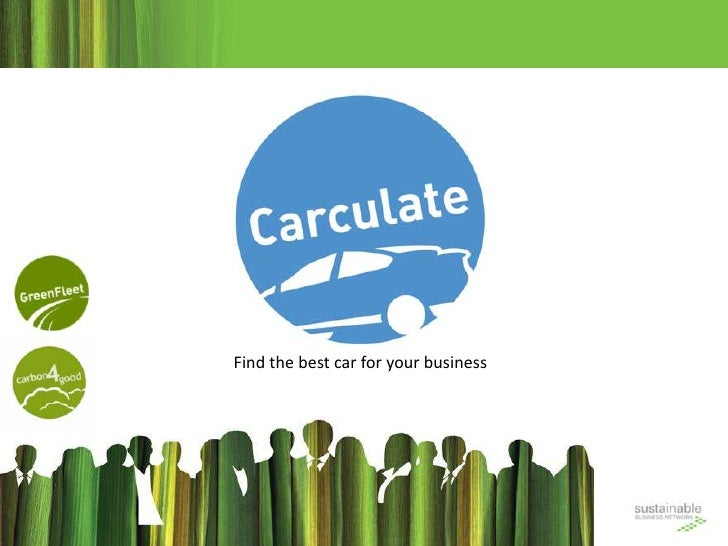 Find the best car for your business