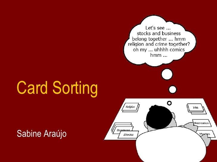 Card Sorting Sabine Araújo