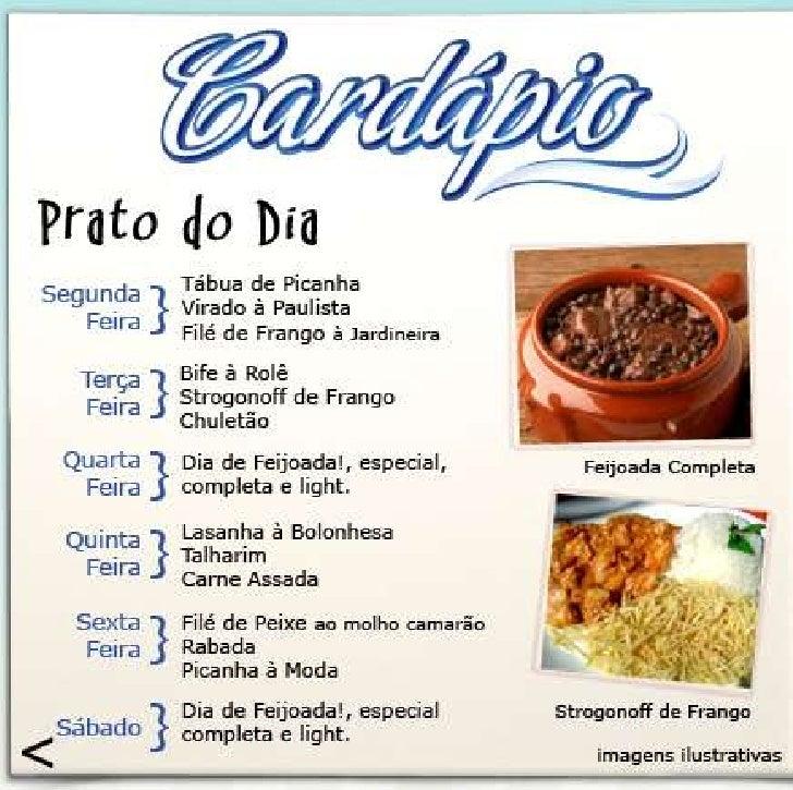 Cardapio