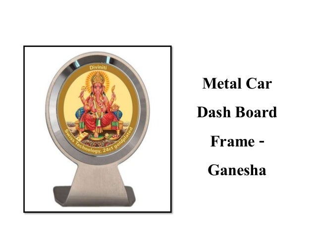 Car Dashboard Photo Frame
