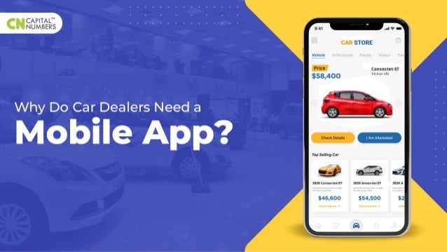 Why Do Car Dealers Need a Mobile App?