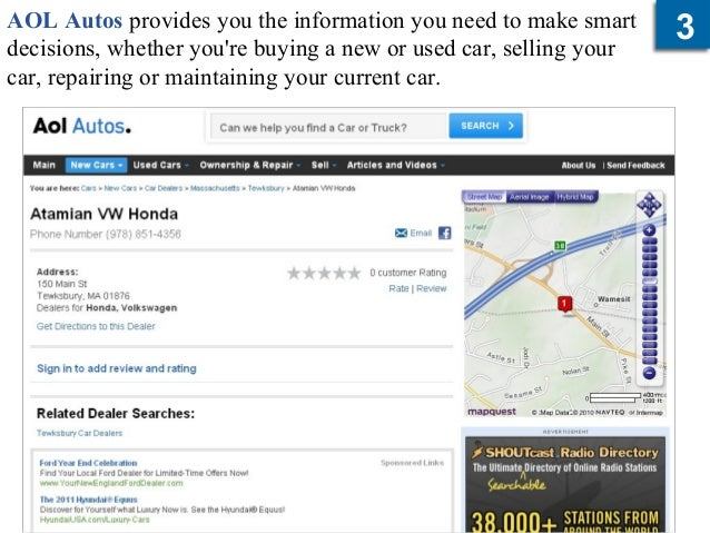 Auto Review Websites