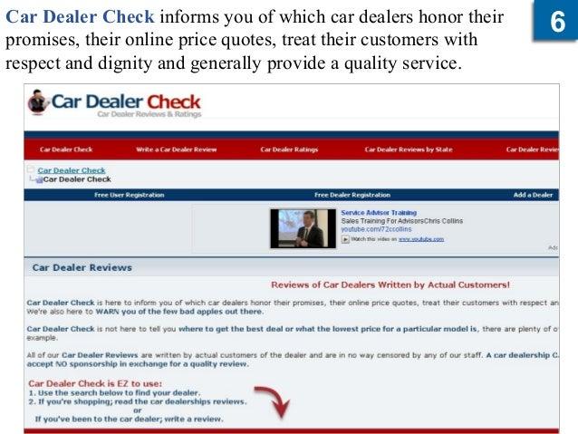 Car Dealer Reviews >> Auto Dealer Review Sites