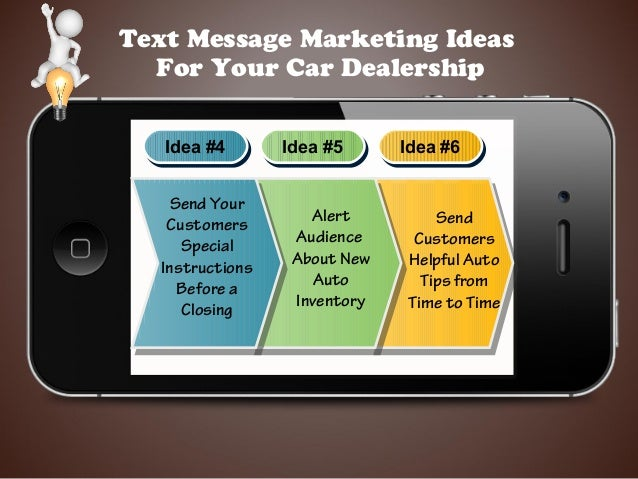 Text Message Marketing For Car Dealerships