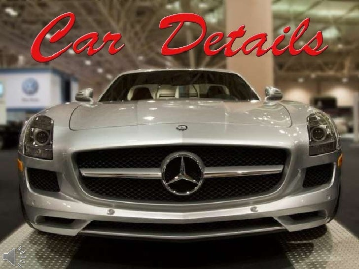 Car details (v.m.)