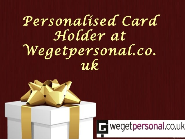 View the great collection of personalised card holder uk engraved car personalised card holder at wegetpersonal uk reheart Image collections