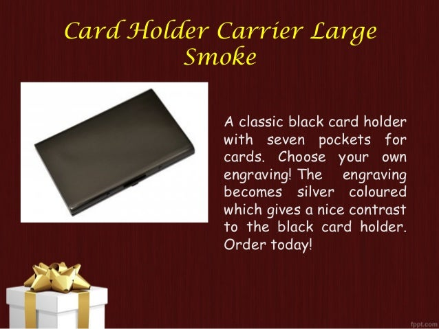 View the great collection of personalised card holder uk engraved car card holder reheart Image collections