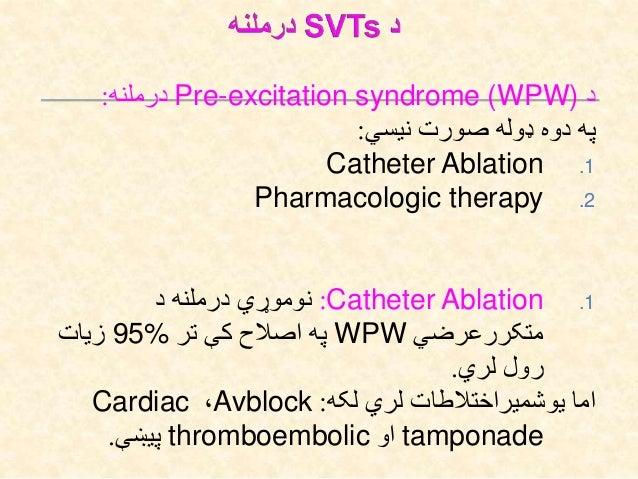 Polymorphic VTدVentricular fibrillationاو Sudden cardiac deathبیایي ناروغ طرف په.