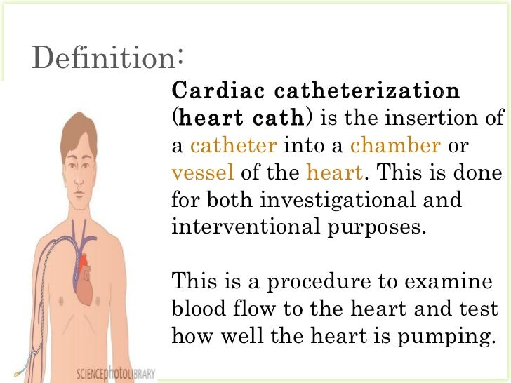 Cardiac Catheterization123