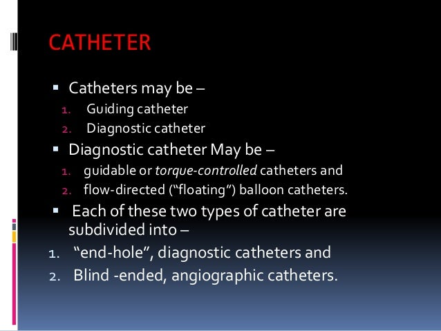 Cardiac Catheterization At A Glance Including Instruments
