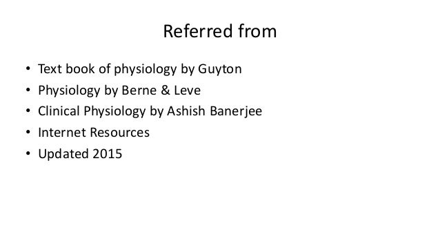 clinical physiology banerjee ashis