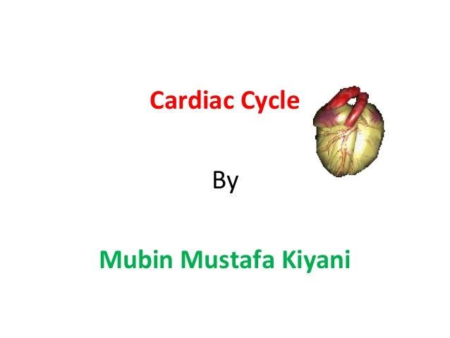 Cardiac Cycle By Mubin Mustafa Kiyani