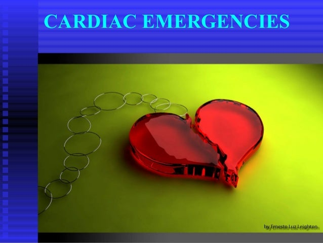 1 CARDIAC EMERGENCIES