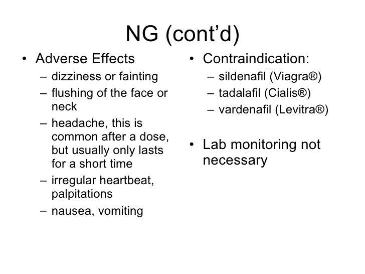 Viagra Cardiac Effects