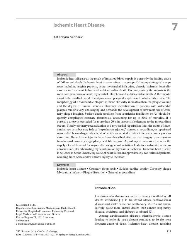 117S.K. Suvarna (ed.), Cardiac Pathology,DOI 10.1007/978-1-4471-2407-8_7, © Springer-Verlag London 2013IntroductionCardiov...