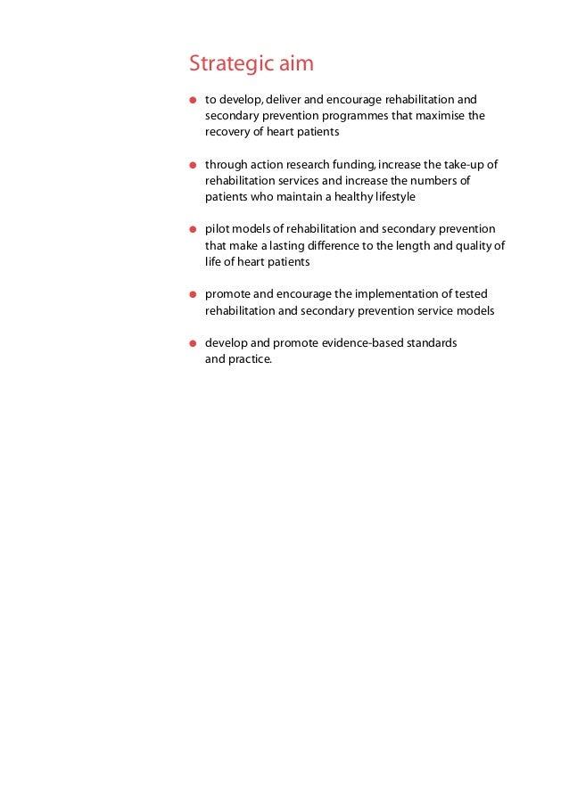 Cardiac Rehabilitation Team Statement April 2004; 8.