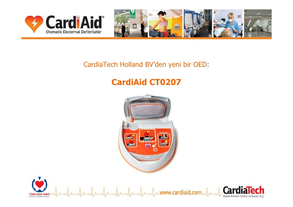 CardiaTech Holland BV'den yeni bir OED:          CardiAid CT0207
