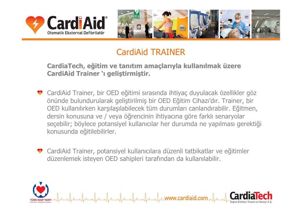 CardiAid AKSESUARLARI CardiAid Duvar Askı Aparatı     CardiAid OED Kabineti
