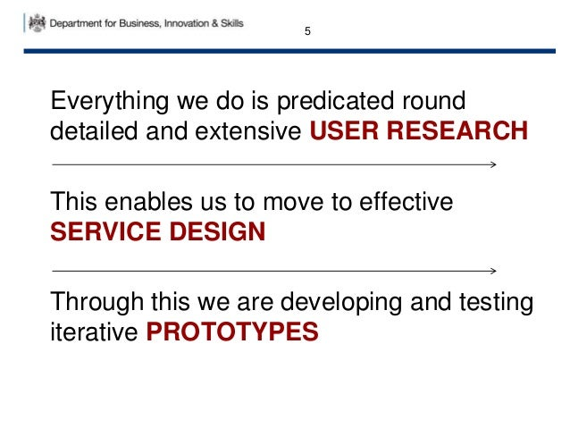 Everything we do is predicated round detailed and extensive USER RESEARCH This enables us to move to effective SERVICE DES...