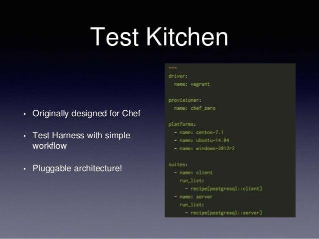 Test Kitchen Chef Server