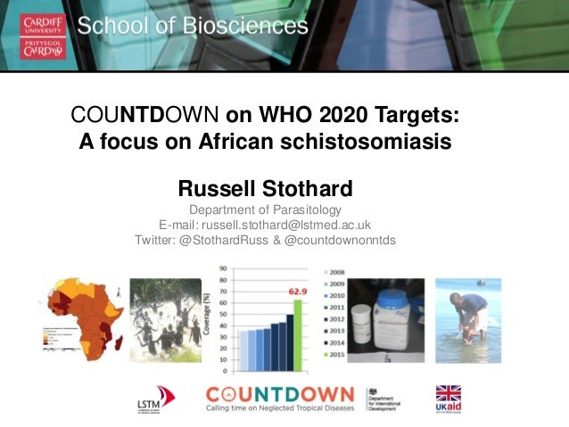 COUNTDOWN on WHO 2020 Targets: A Focus on African