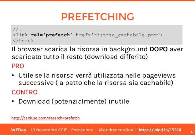WPDay 2015 - WordPress Performance Optimization - Pordenone - 13 Nove… slideshare - 웹