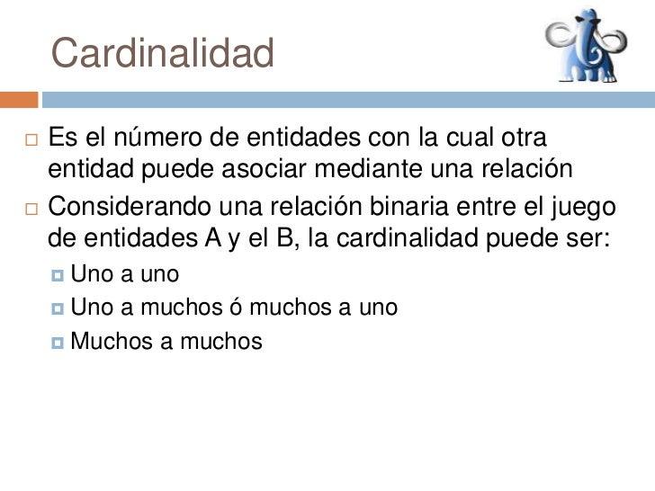 Cardinalidad Slide 2