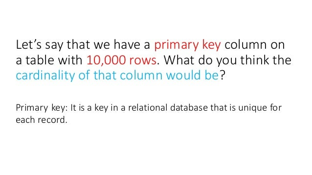 relationship cardinality and participation database