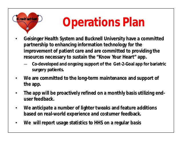 operations and management business plan sample