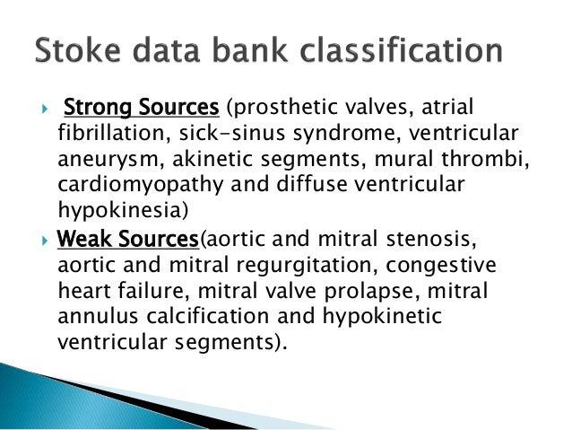 Cardioembolic stroke for Atrial mural thrombus